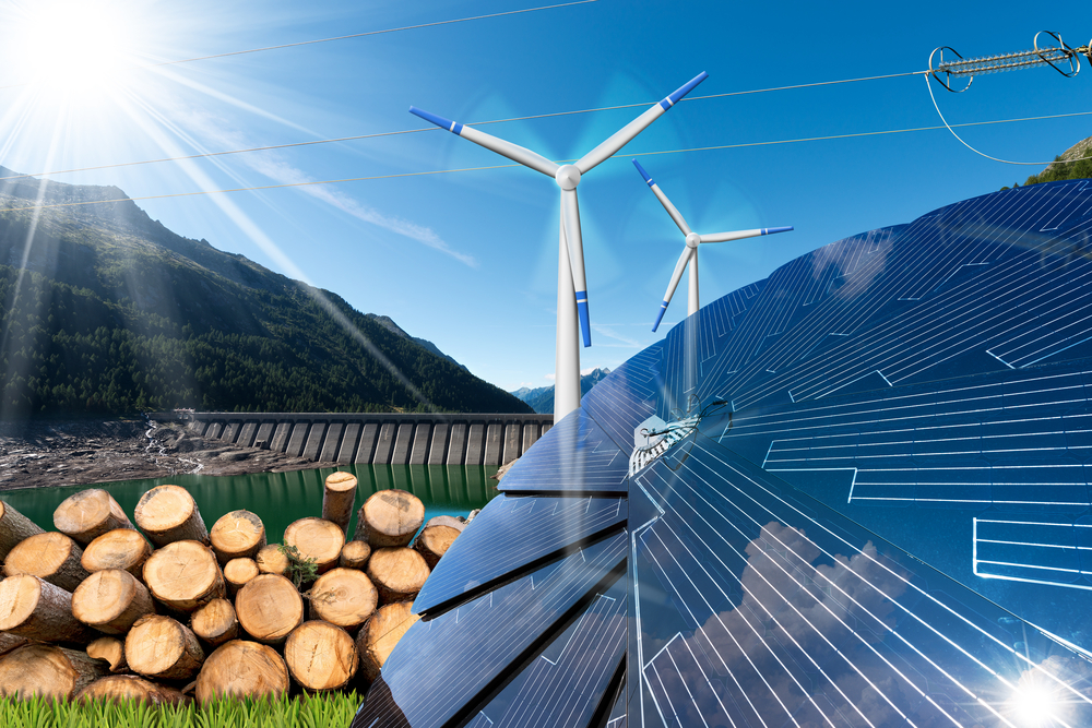 Biomass and solar & wind energy